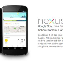 Googles neue Nexus-Linie und Play Music: The Playground Is Open