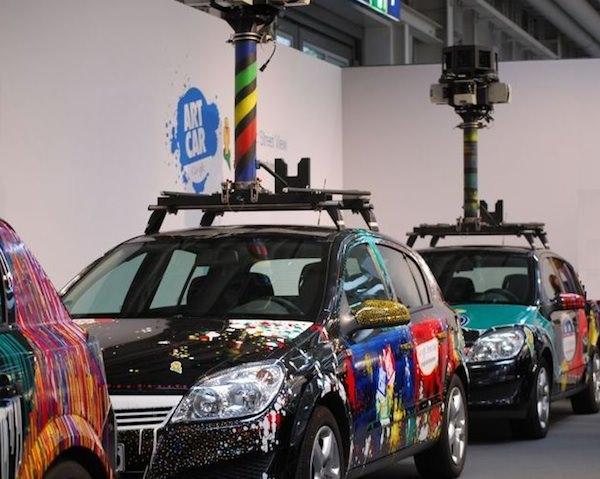 CeBit 2010: Der Stand von Google Streetview