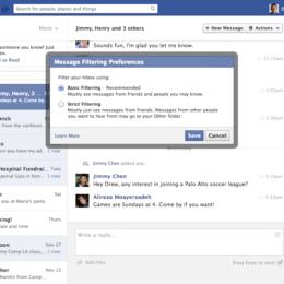 Facebook testet 1-Dollar-Nachrichten: Digitale Einschreiben mit Zustellgarantie