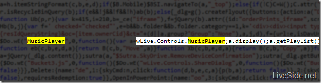 <small>Der Hinweis im HTML-Code</small>