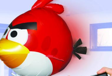 Angry Bird Spielzeug