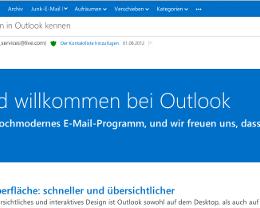 Mit Outlook.com auf Angriffskurs zu Gmail, GMX und Co.