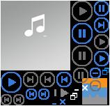 <small>So könnte der SkyDrive-Player aussehen</small>