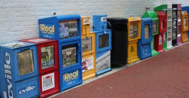 Zeitung Automaten