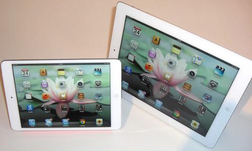 iPad mini und iPad 3 mit Retina-Display im Vergleich