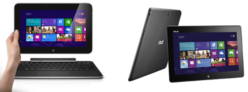 Asus VivoTab Smart und Dell XPS 10