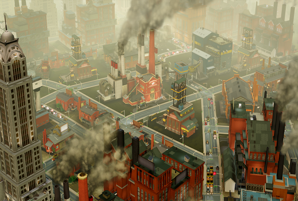 SimCity IndustrialCity