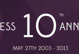 Herzlichen Glückwunsch zum 10. Geburtstag, WordPress!