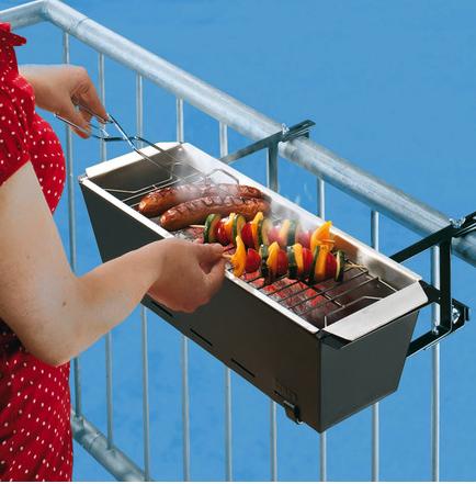 Handrail BBQ