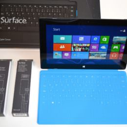 Microsoft Surface Pro mit Windows 8 Pro