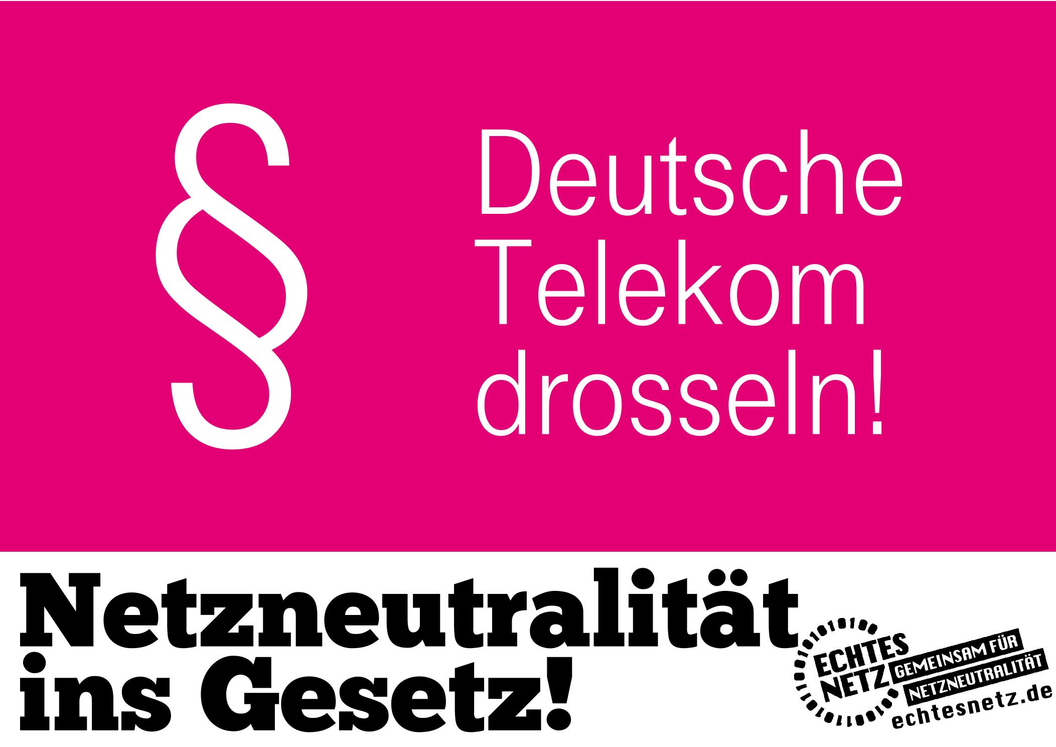 Plakat, echtesnetz.de