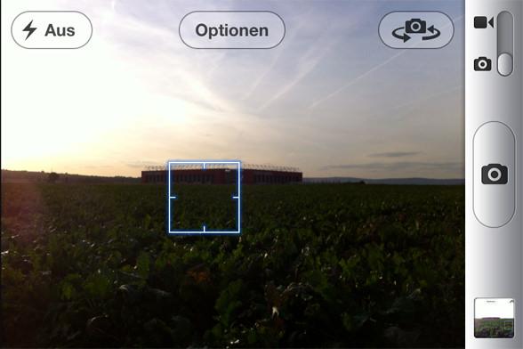 Foto Belichtung beim iPhone - Standard