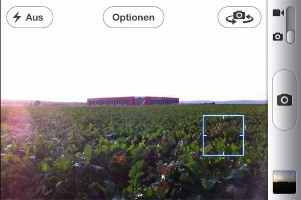 Foto Belichtung beim iPhone - dunkler Bereich