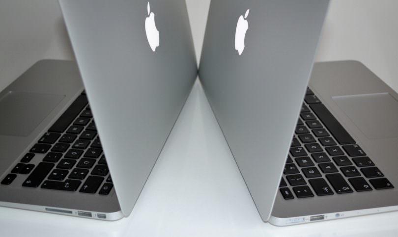 Apple MacBook Air 13 Zoll Vergleich: Generationen 2012 und 2013