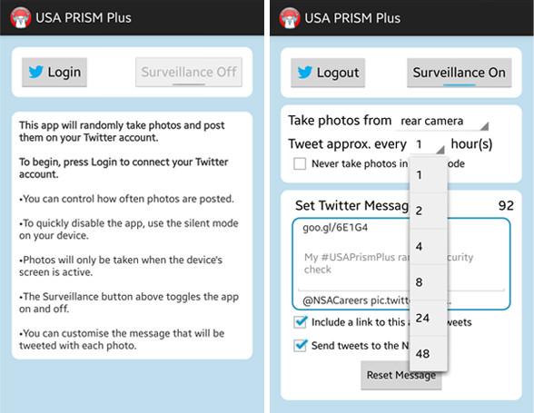 USA PRISM Plus App