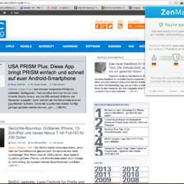 ZenMate: Neues Browser-Add-on für Chrome verschlüsselt und verschleiert euren Datenverkehr per Mausklick - derzeit noch ohne Einschränkung kostenlos