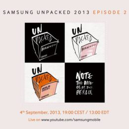 4. September: Samsung Unpacked Event in Berlin