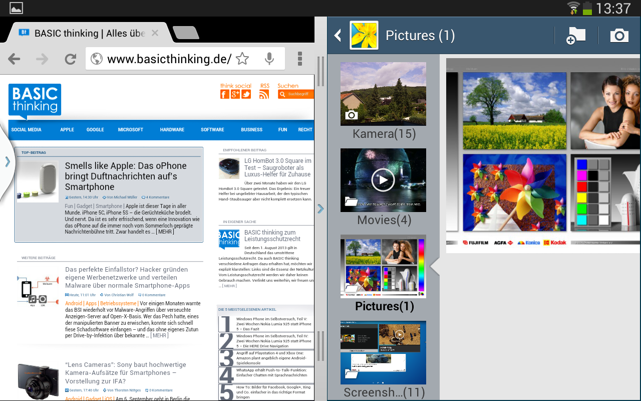 how to take a screenshot on galaxy tab a tablet