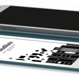 IFA-Fundstück: PocketBook CoverReader - Smartphone-Schutzhülle mit integriertem E-Ink-Display