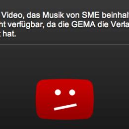 GEMA und YouTube einigen sich – auf neue Sperrtafeln