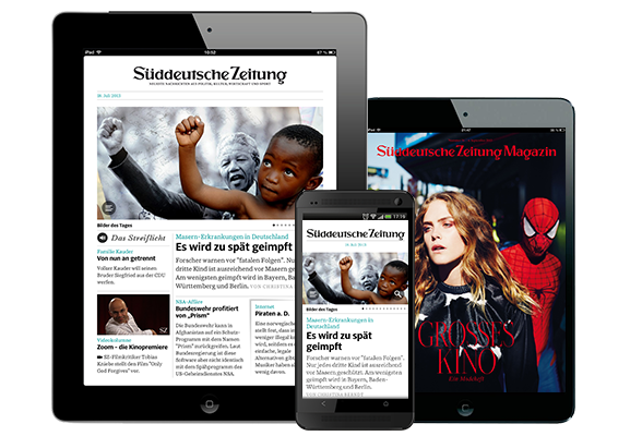 Sponsored Post: Die Zeitung von morgen – SZ Digital