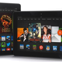 Amazon schickt neue Kindle-Tablets ins Rennen: Aufgefrischtes Kindle Fire HD meets Kindle Fire HDX und Kindle Fire HDX 8.9
