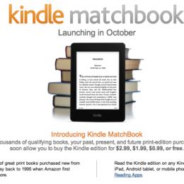 """""""Kindle MatchBook"""": Amazon bietet E-Book-Ausgaben gekaufter Bücher gegen Mini-Aufpreis oder gratis - Lockmittel für das Kindle-Universum"""