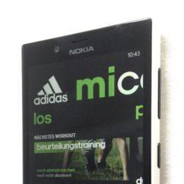 Adidas miCoach ab sofort für Windows Phone verfügbar - eine exklusive Vorschau auf die App, Selbstversuch folgt. Ich, Maschine?