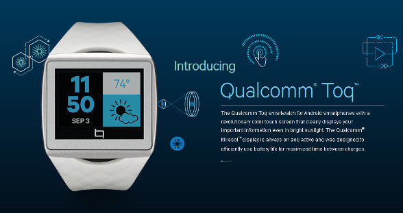 Qualcomm Toq - http://toq.qualcomm.com/#toq-hello