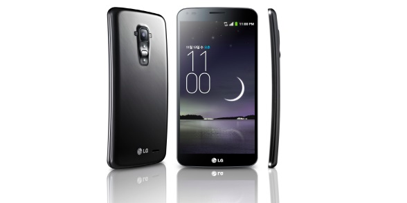 """Selbstheilungskräfte"""" – LG stellt gebogenes Smartphone G Flex vor ..."""