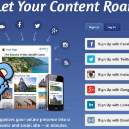 Selbstvermarktung für Social Medians im Netz: RebelMouse (Teil 2)