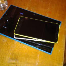 Nokia-Bloggertreffen in Düsseldorf: Lumia 2520, Lumia 1520 und Lumia 1320 im Hands-on