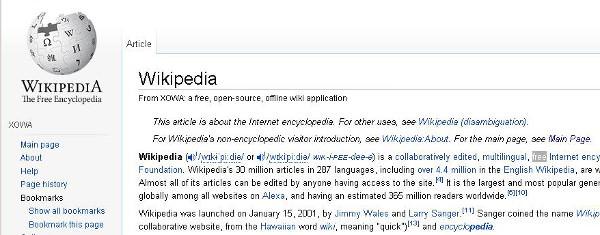 Wikipedia Auf Dem Desktop Mit Xowa Die Online Enzyklopadie Herunterladen