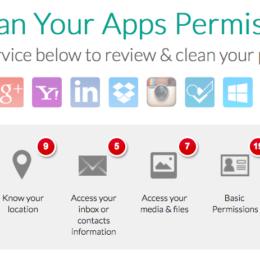Tool-Tipp zum Jahresende: MyPermissions-Cleaner hilft beim Neujahrsputz im Social Web