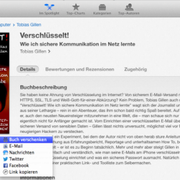 Apple iBookstore: Bücher lassen sich nun auch verschenken - allerdings nicht an jeden