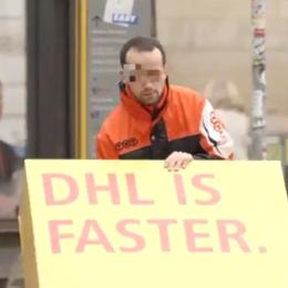 Witzige Werbeaktion: Wenn DHL der Konkurrenz einen Trojaner unterschiebt