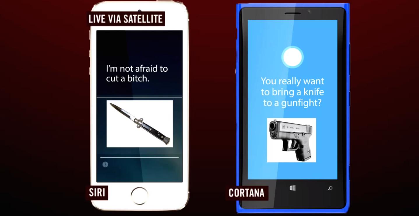 Siri Cortana