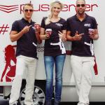 Sponsored Post: Cool - PlusServer-#Agentour mit 15.000 Eisb(r)echern und Sarah Knappik
