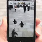 Witziger Einsatz einer AR-App: Pinguine zeigen den Weg zum Zoo