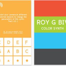 """Wie klingt eine Zimmerpflanze? Welche Töne macht eine Pizza? Die durchgeknallte Synthesizer-App """"ROY G BIV"""" im Test"""