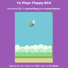 """Zwei Hypes kombiniert: """"Flappy Bird"""" mit der """"Yo""""-App spielen"""