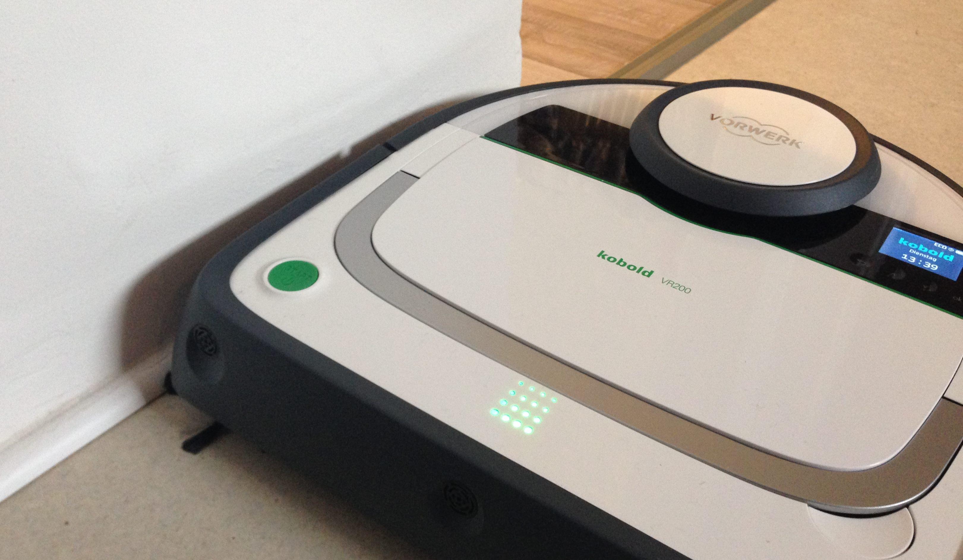 saugroboter vorwerk kobold vr 200 saugroboter im test. Black Bedroom Furniture Sets. Home Design Ideas