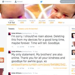 Zelda Williams verlässt Twitter: Regeländerungen wegen Missbrauchsfällen geplant