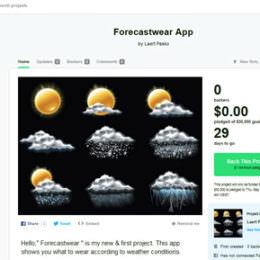 """Forecastwear App: Interessante Idee mit einem """"Coitus Interruptus"""" im Konzept"""