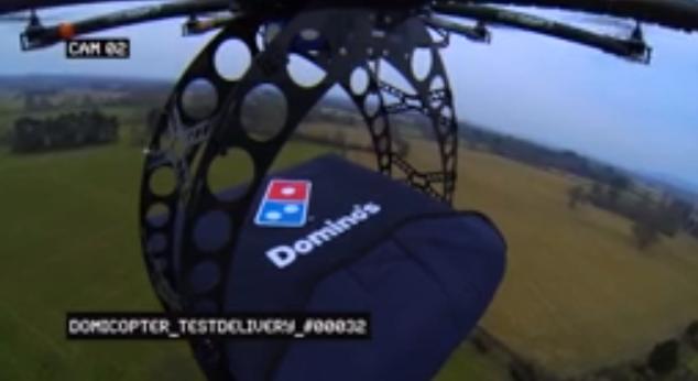 Pakete per Drohne verschicken? Domino's testet das schon länger