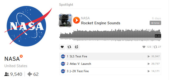 nasa-soundlcoud