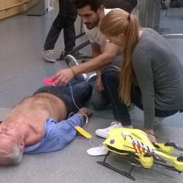 Lebensretter aus der Luft: Drohne wird zum fliegenden Defibrillator für Noteinsätze