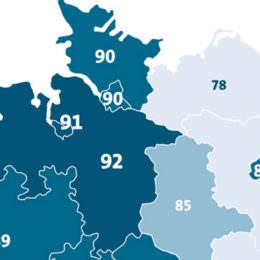 Neue Studie: Ost-Deutschland hinkt in Sachen Internet hinterher