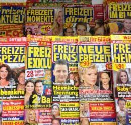 Viel FREIZEIT & Helene Fischer: Die (un)kreative Bankrotterklärung der deutschen Yellow Press