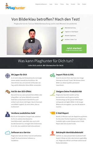 plaghunter-webseite